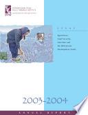 2003 2004 IFPRI Annual Report
