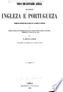 Novo diccionario geral das linguas ingleza e portugueza