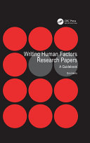 Writing Human Factors Research Papers Pdf/ePub eBook