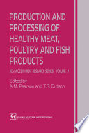 Production and Processing of Healthy Meat  Poultry and Fish Products