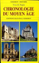 Chronologie du Moyen Âge