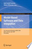 Model Based Software And Data Integration Book PDF