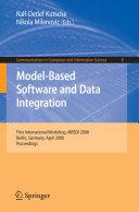 Model-Based Software and Data Integration