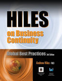 Hiles on Business Continuity Book
