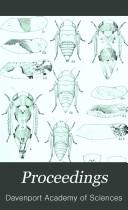 Proceedings of the Davenport Academy of Sciences