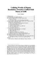 Journal of Dispute Resolution