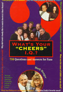 What s Your  Cheers  IQ  Book