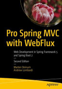 Pro Spring MVC with WebFlux Book