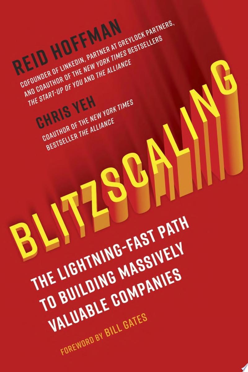 Blitzscaling image