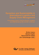 Dynamics and Sustainability in International Logistics and Supply Chain Management