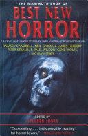 The Mammoth Book of Best New Horror 11 Pdf/ePub eBook