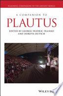 A Companion to Plautus