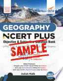 (Free Sample) Geography NCERT PLUS Objective & Subjective Question Bank for UPSC CSE & State PSC Prelim & Main Exams