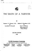 The Death of a Taxpayer