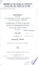 Amendment in the Nature of a Substitute to H.R. 2795, the