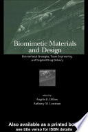 Biomimetic Materials And Design Book PDF