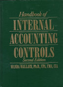 Handbook of Internal Accounting Controls
