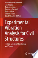 Experimental Vibration Analysis for Civil Structures