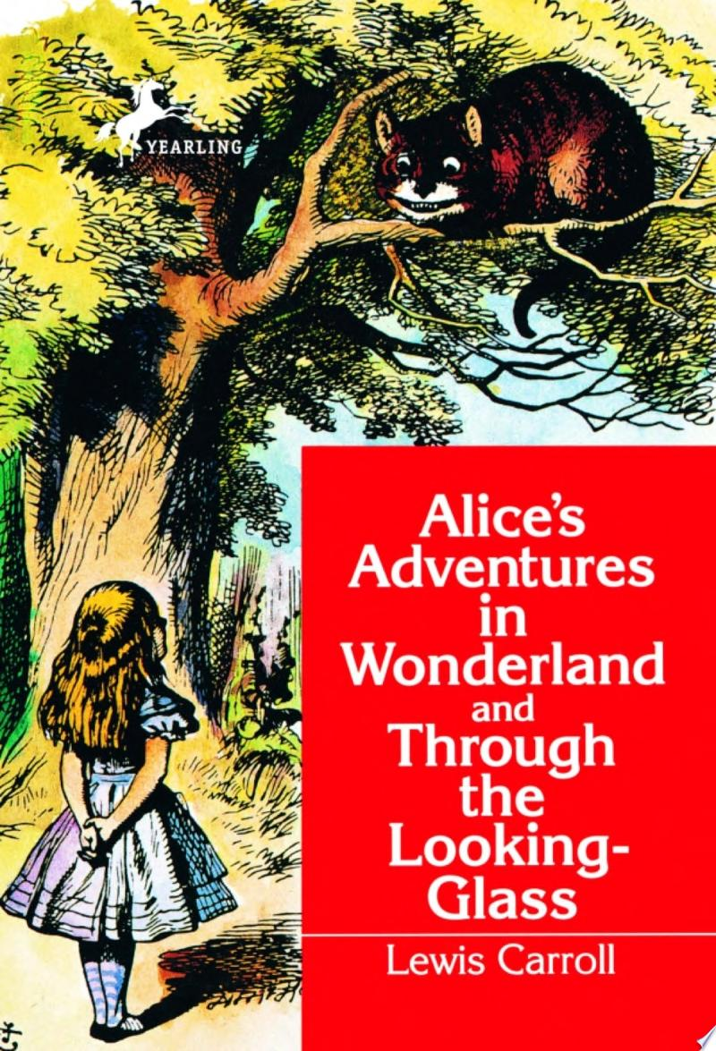 Alice's Adventures in Wonderland and Through the Looking-Glass banner backdrop