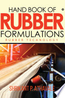 Hand Book Of Rubber Formulations Book PDF
