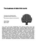 The business of state trial courts