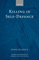 Killing in Self-defence