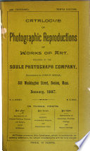 Catalogue of Photographic Reproductions of Works of Art