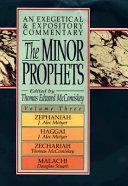 The Minor Prophets Zephaniah Haggai Zechariah And Malachi