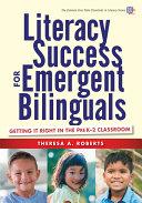 Literacy Success for Emergent Bilinguals Pdf/ePub eBook