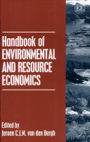 Handbook of Environmental and Resource Economics Book
