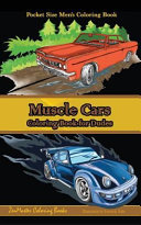 Muscle Cars Men s Coloring Book