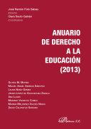 Anuario de derecho a la educación 2013