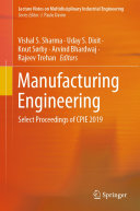 Manufacturing Engineering Pdf/ePub eBook