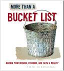 More Than a Bucket List Pdf/ePub eBook