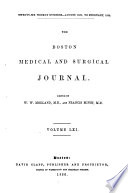 Boston Medical and Surgical Journal