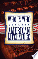 Who Is Who in American Literature