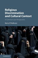 Religious Discrimination and Cultural Context