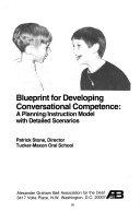 Blueprint for Developing Conversational Competence