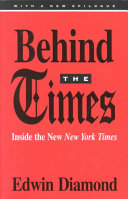 Behind the Times