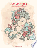 Zodiac Signs Coloring Book For Grown Ups 1 2