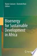 Bioenergy for Sustainable Development in Africa