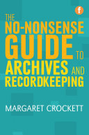 The No nonsense Guide to Archives and Recordkeeping