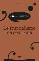 Pdf Le journalisme de solutions Telecharger