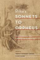 Rilke s Sonnets to Orpheus