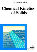 Chemical Kinetics of Solids Book