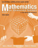 Mathematics For Elementary Teachers California State Guidelines Book Book PDF