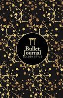 Golden Charming Flower Design Journal