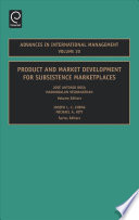 Product and Market Development for Subsistence Marketplaces