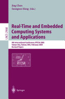 Real Time and Embedded Computing Systems and Applications