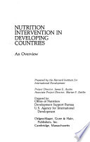 Nutrition Intervention in Developing Countries